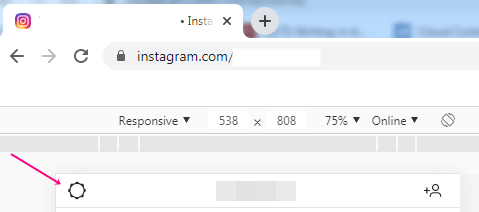Log out instagram on pc